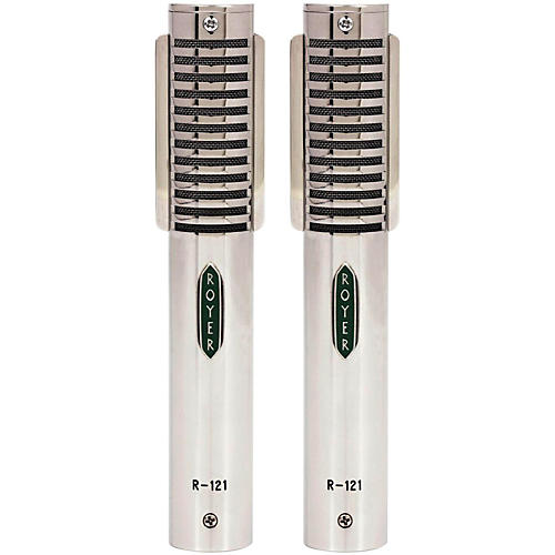 Royer Ribbon Microphone Limited Edition Matched Pair