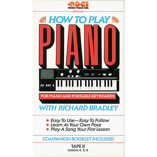 Alfred Richard Bradley How to Play Piano, Tape 2