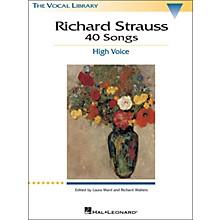Hal Leonard Richard Strauss: 40 Songs for High Voice