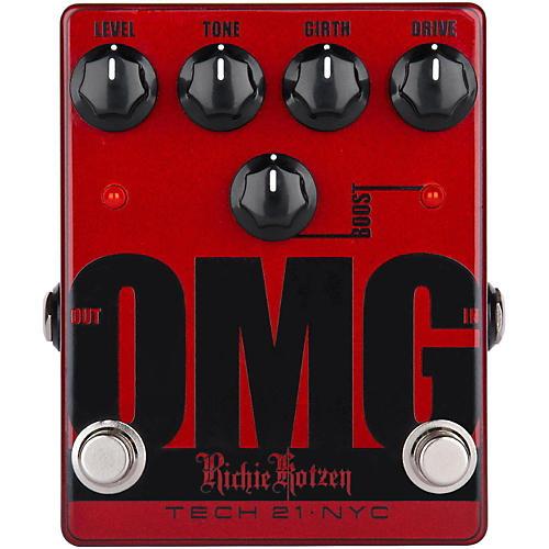 Tech 21 Richie Kotzen OMG Signature Overdrive Guitar Effects Pedal