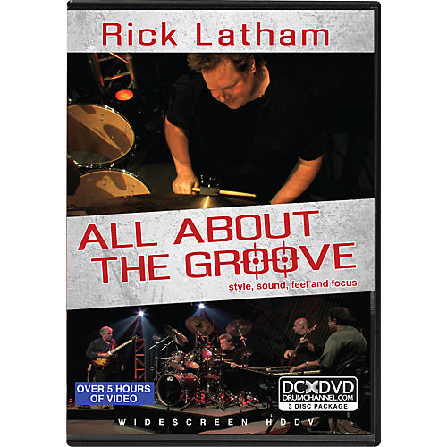 Alfred Rick Latham - All About the Groove: Style, Sound, Feel, and Focus (3-DVD Set)