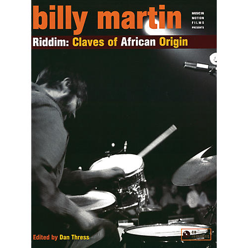 Alfred Riddim Claves African Origin - Billy Martin Book and CD Set