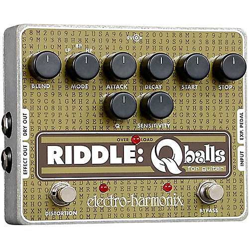 Electro-Harmonix Riddle Envelope Filter Guitar Effects Pedal