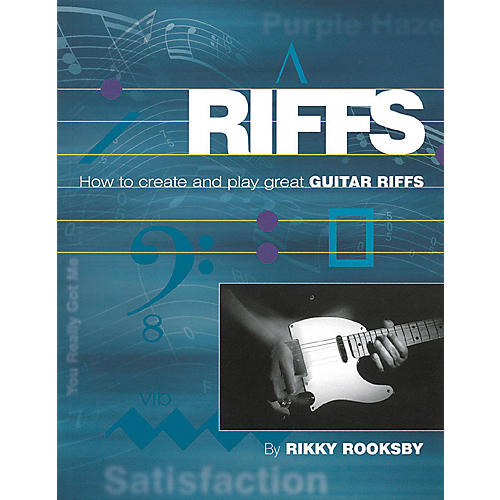 Backbeat Books Riffs: How to Create and Play Great Guitar Riffs (Book/CD)