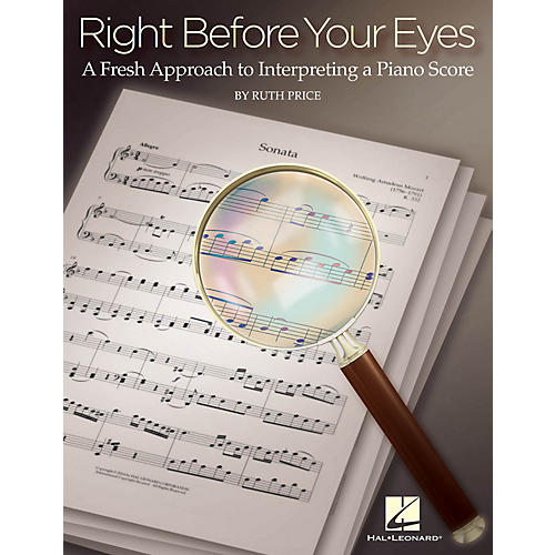 Hal Leonard Right Before Your Eyes Educational Piano Library Series Softcover Written by Ruth Price