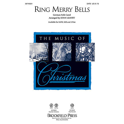 Brookfield Ring Merry Bells 2-Part Arranged by John Leavitt
