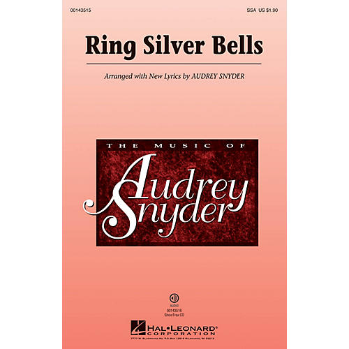 Hal Leonard Ring Silver Bells ShowTrax CD Arranged by Audrey Snyder