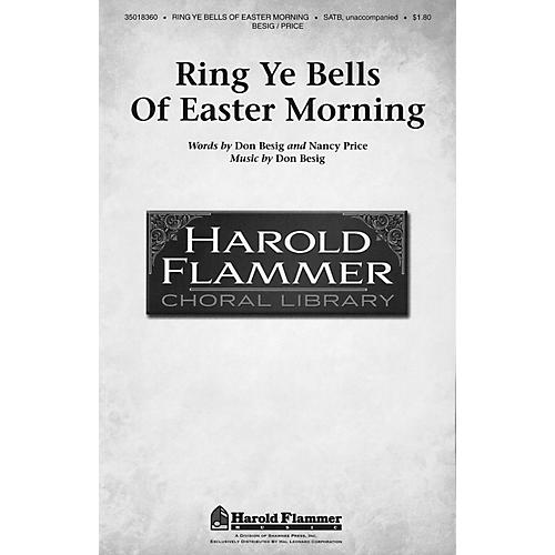 Shawnee Press Ring Ye Bells of Easter Morning SATB a cappella composed by Don Besig