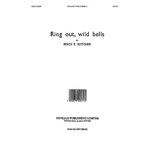 Novello Ring out Wild Bells SATB, Organ Composed by Percy E. Fletcher