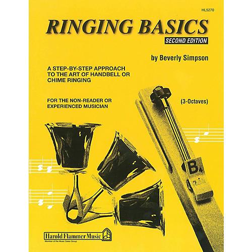Hal Leonard Ringing Basics Handbell Method Book Vol. 2 - 2nd Edition (for 3-Octave Handbells)
