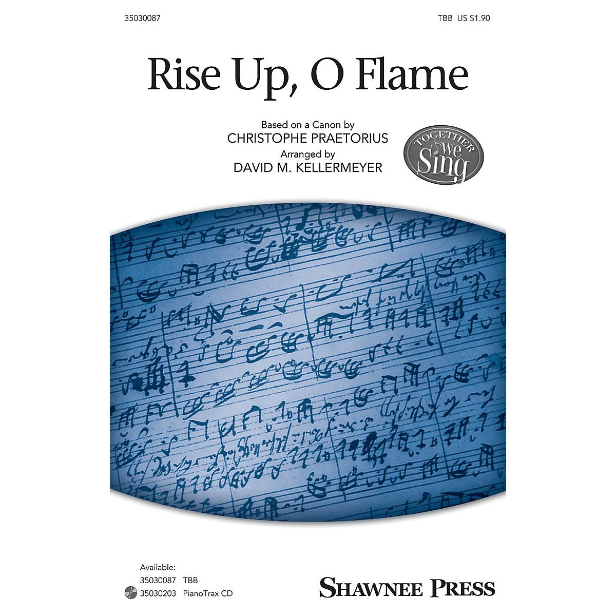Shawnee Press Rise Up, O Flame (Together We Sing Series) TBB arranged by David M. Kellermeyer