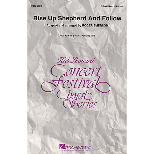 Hal Leonard Rise Up Shepherd and Follow TTB Arranged by Roger Emerson