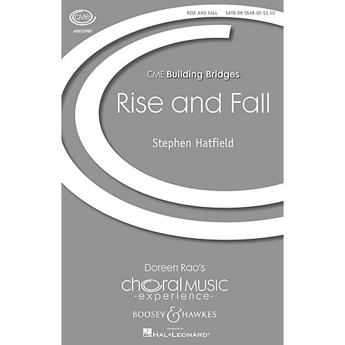 Boosey and Hawkes Rise and Fall (CME Building Bridges) 4 Part Any Combination composed by Stephen Hatfield