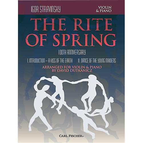 Carl Fischer Rite of Spring - Mvts. I & II for Violin & Piano (Book + Sheet Music)