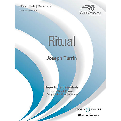 Boosey and Hawkes Ritual Concert Band Level 4 Composed by Joseph Turrin