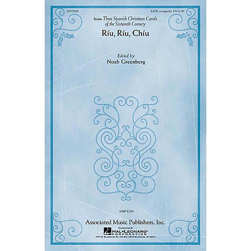 G. Schirmer Riu, Riu, Chiu (from Three Spanish Christmas Carols) SATB a cappella by Anonymous edited Noah Greenberg