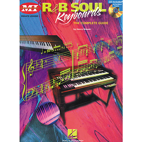 Hal Leonard R'n'B Soul Keyboards Complete Guide Book/CD