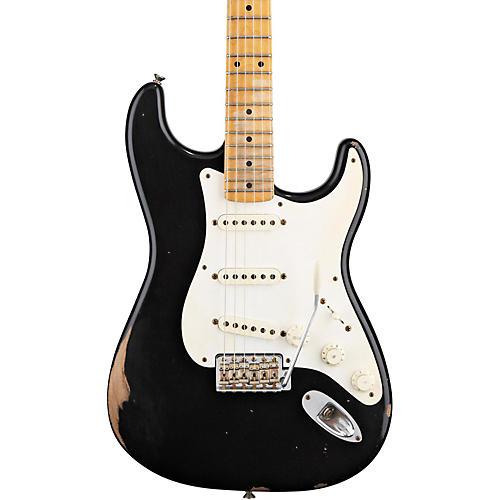 fender road worn 39 50s stratocaster electric guitar black guitar center. Black Bedroom Furniture Sets. Home Design Ideas