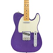 Road Worn '50s Telecaster Limited Edition Electric Guitar Purple Metallic