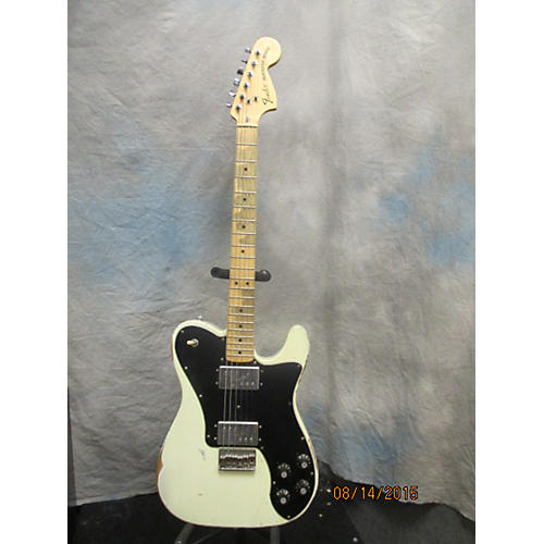 Fender Road Worn 72 Tele Deluxe Reissue White Solid Body Electric Guitar
