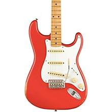 Road Worn Limited Edition '50s Stratocaster Electric Guitar Fiesta Red