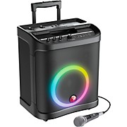 RoadTrip 100 Mobile Sound System With Lights, Microphone, and Battery Power