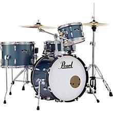 Roadshow 4-Piece Jazz Drum Set Aqua Blue Glitter