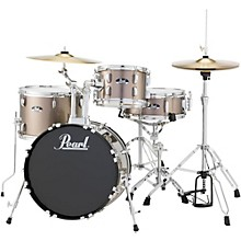 Roadshow 4-Piece Jazz Drum Set Bronze Metallic