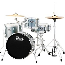Roadshow 4-Piece Jazz Drum Set Charcoal Metallic