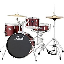 Roadshow 4-Piece Jazz Drum Set Wine Red
