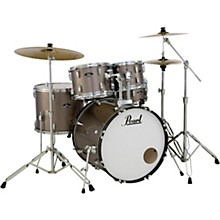 Roadshow 5-Piece Drum Set with Hardware and Zildjian Planet Z Cymbals Bronze Metallic