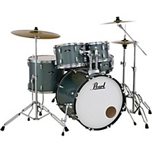 Roadshow 5-Piece Drum Set with Hardware and Zildjian Planet Z Cymbals Charcoal