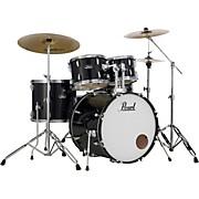 Roadshow 5-Piece Drum Set with Hardware and Zildjian Planet Z Cymbals Jet Black