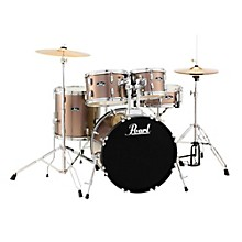 Roadshow 5-Piece Fusion Drum Set Bronze Metallic