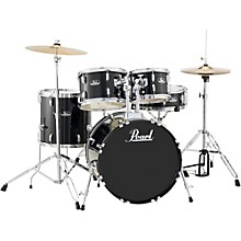 Roadshow 5-Piece Fusion Drum Set Jet Black