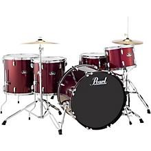 Roadshow 5-Piece Rock Drum Set Wine Red