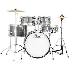 pearl roadshow jr drum set with hardware and cymbals jet black guitar center. Black Bedroom Furniture Sets. Home Design Ideas