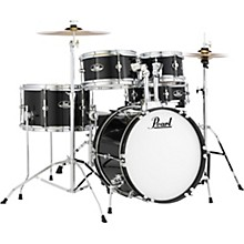Roadshow Jr. Drum Set with Hardware and Cymbals Jet Black