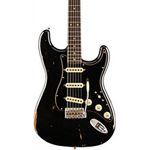 Roasted Poblano Stratocaster Relic Rosewood Fingerboard Limited Editon Electric Guitar Aged Black