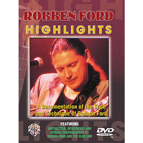 Alfred Robben ford Highlights DVD