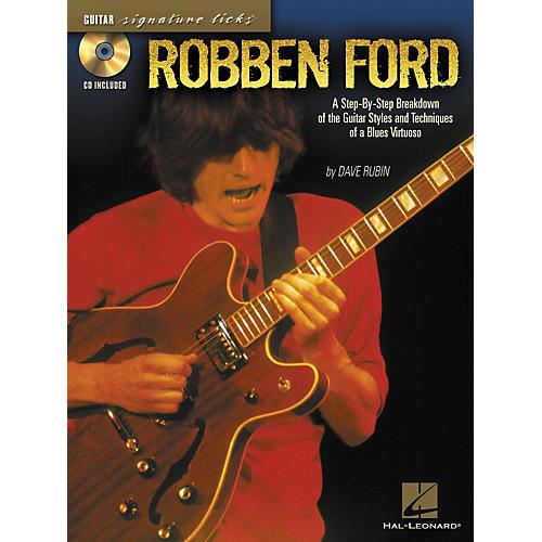 Hal Leonard Robben ford Signature Licks Book & CD