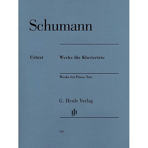 G. Henle Verlag Robert Schumann - Works for Piano Trio Henle Music Composed by Schumann Edited by Ernst Herttrich