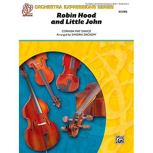 Alfred Robin Hood and Little John String Orchestra Grade 1 Set