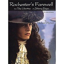 Chester Music Rochester's Farewell from The Libertine Music Sales America Series Composed by Michael Nyman