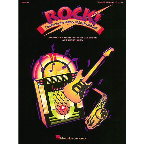 Hal Leonard Rock! - Celebrate the History of Rock and Roll (Musical) Singer 5 Pak Composed by Kirby Shaw
