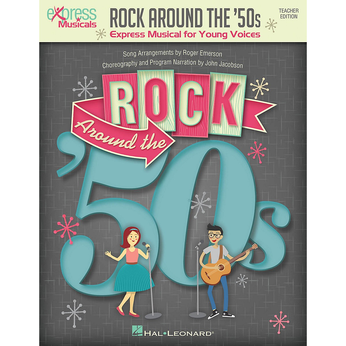 Hal Leonard Rock Around the '50s (Express Musical for Young Voices) by Roger Emerson Performance Kit with Audio Download