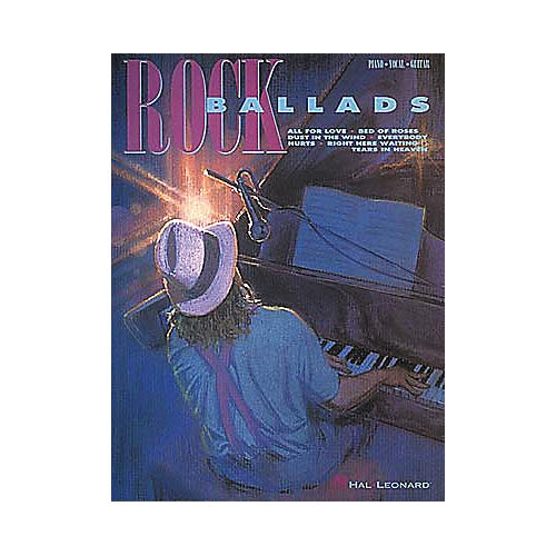 Hal Leonard Rock Ballads Piano, Vocal, Guitar Songbook