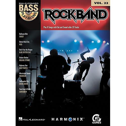 Hal Leonard Rock Band - Classic Rock Edition - Bass Play-Along Volume 22 Book/CD