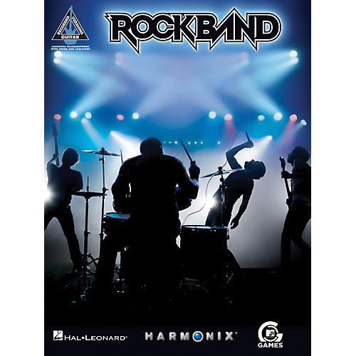 Hal Leonard Rock Band Guitar Tab Songbook - Songs from MTV's Video Game