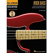 Hal Leonard Rock Bass - Hal Leonard Bass Method Supplement To Any Bass Method Book/Online Audio